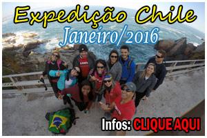 EXPEDICAO CHILE (DEZ 2015) - RAPEL - ESCALADA - ARBORISMO - VINICOLA - VALPARAISO - VINA DEL MAR