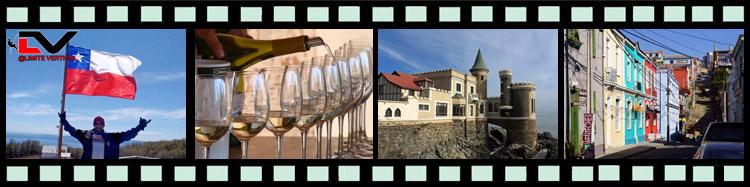 Algumas fotos do roteiro para o Chile